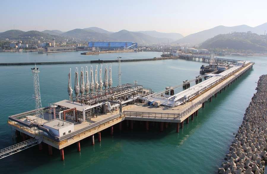 Терминалы наливных грузов